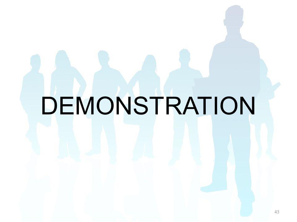 DEMONSTRATION 43
