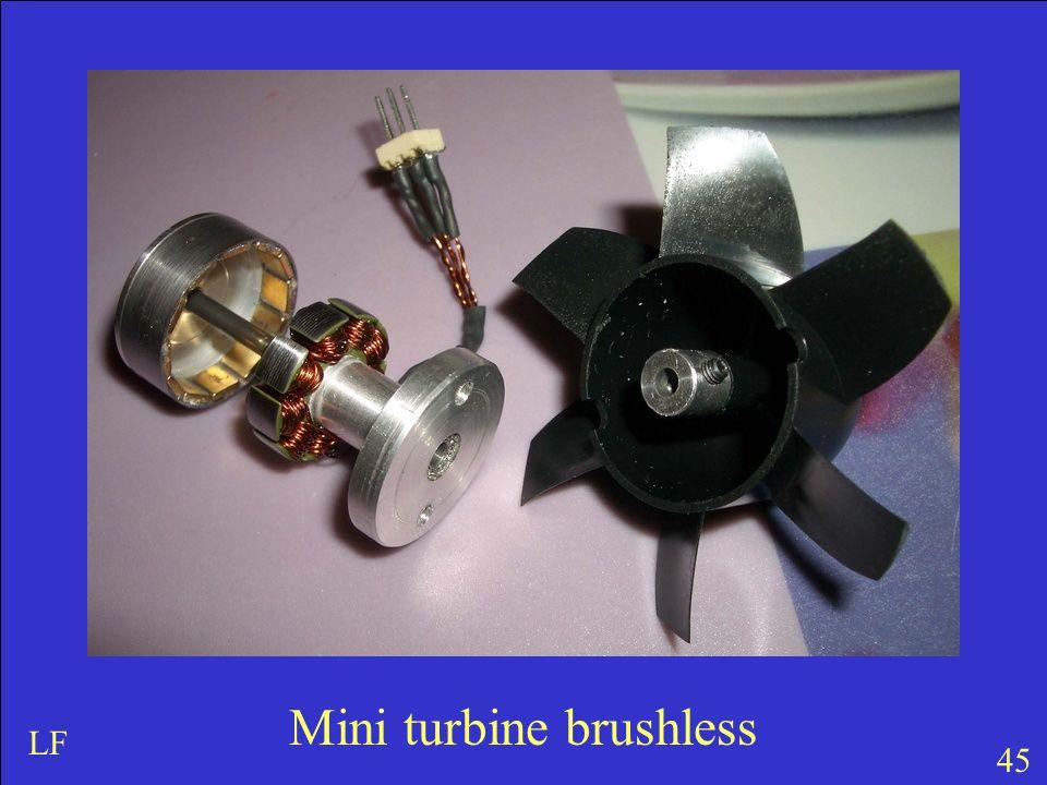 45 LF Mini turbine brushless