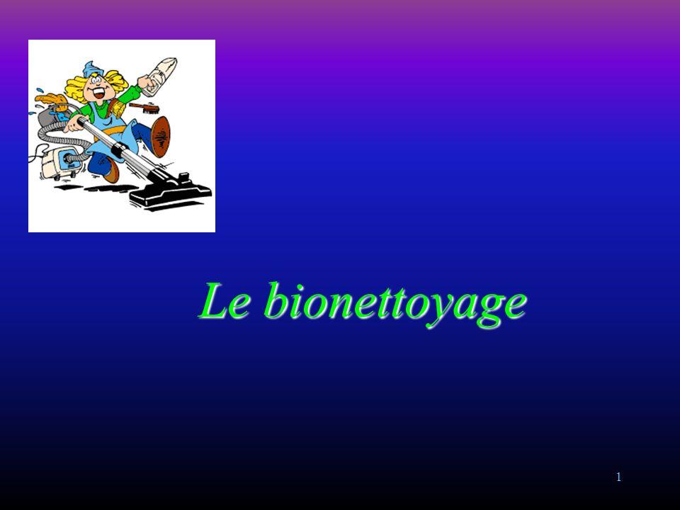 1 Le bionettoyage