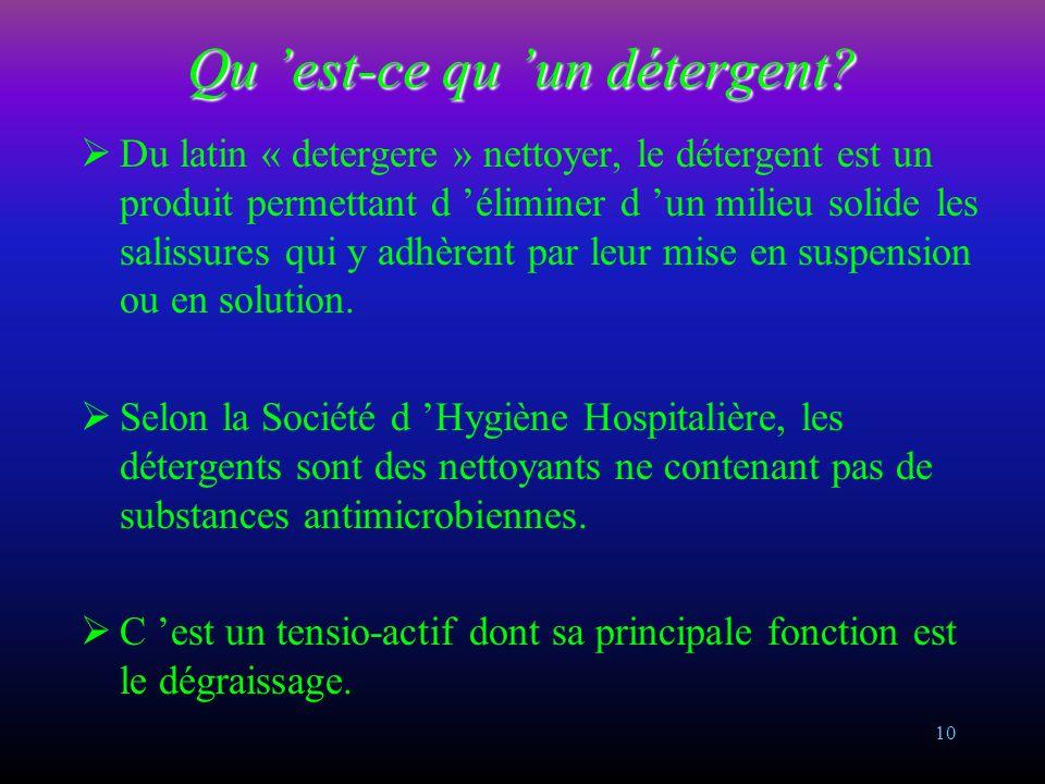 9 Cercle de Sinner Le bionettoyage sera efficace si les 4 éléments du cercle de Sinner sont respectés TempératureAction chimique Action mécaniqueTemps