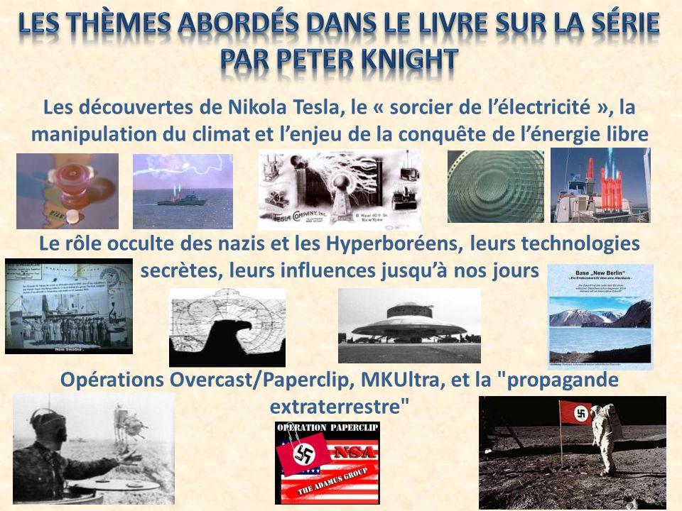 Les découvertes de Nikola Tesla, le « sorcier de lélectricité », la manipulation du climat et lenjeu de la conquête de lénergie libre Le rôle occulte