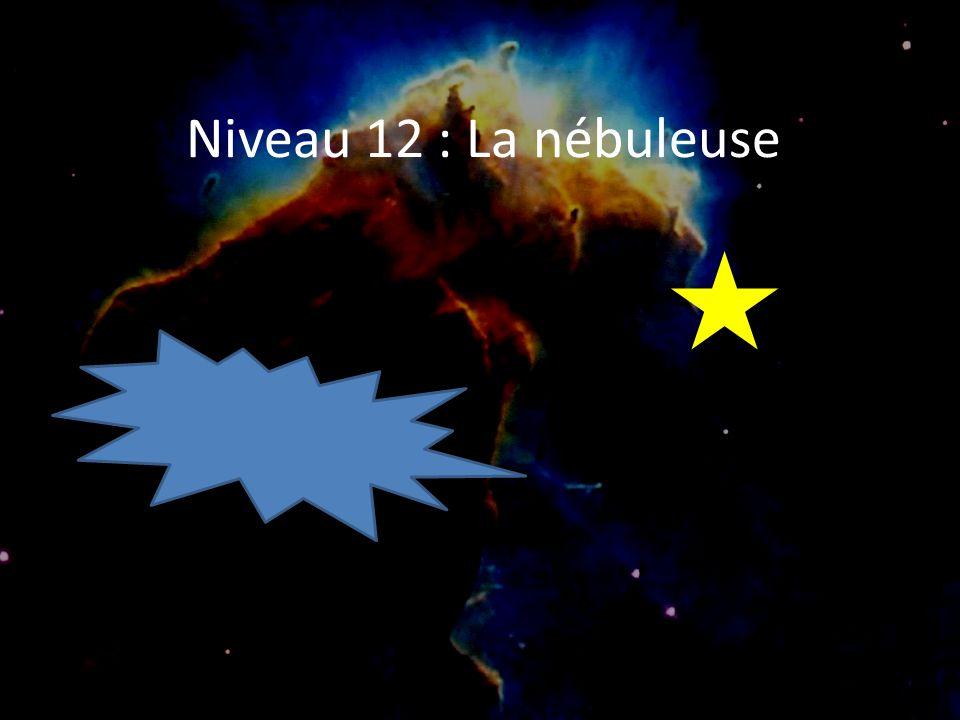 Niveau 12 : La nébuleuse Bienvenue…