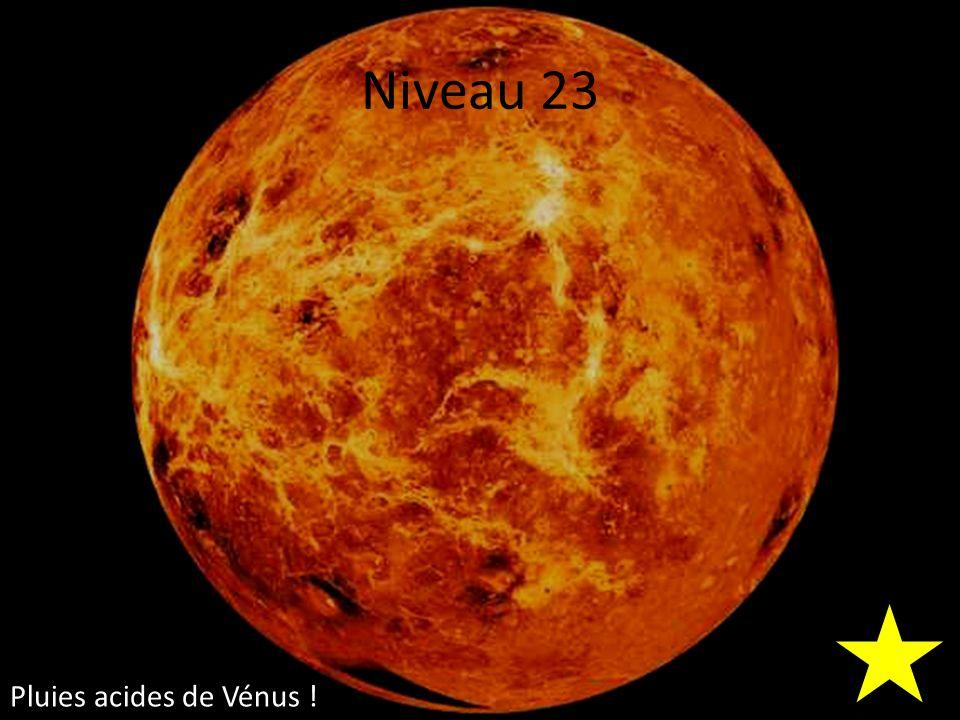 Niveau 23 Pluies acides de Vénus !
