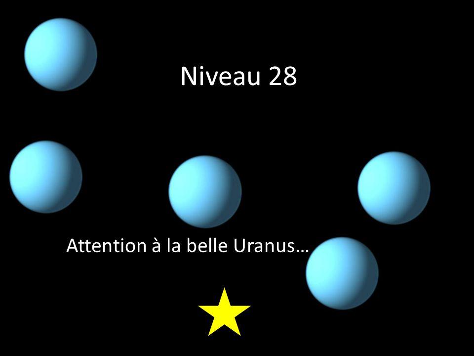 Niveau 28 Attention à la belle Uranus…