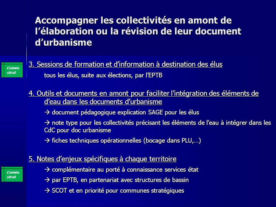 Accompagner les collectivités en amont de lélaboration ou la révision de leur document durbanisme 3.