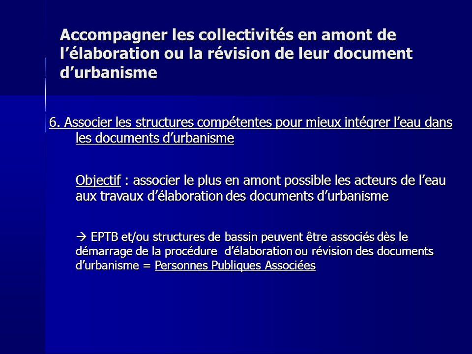 Accompagner les collectivités en amont de lélaboration ou la révision de leur document durbanisme 6.