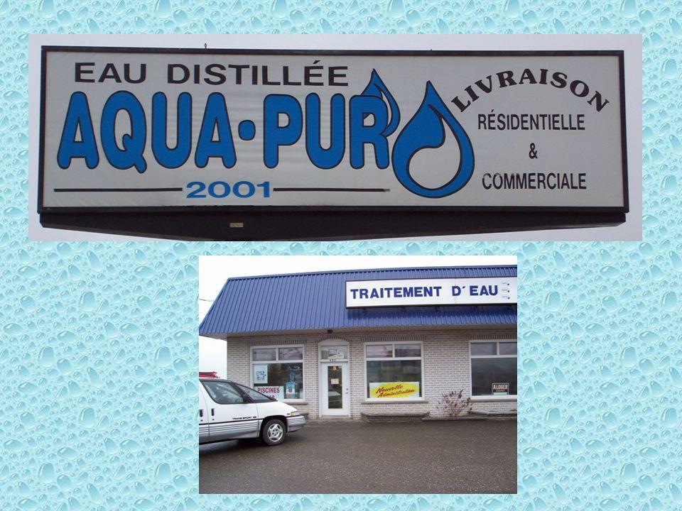 Eau Aqua-Pur Le traitement apporté à leau