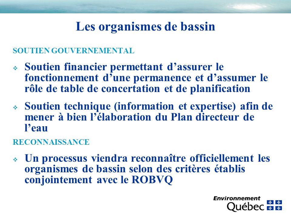 SOUTIEN GOUVERNEMENTAL v Soutien financier permettant dassurer le fonctionnement dune permanence et dassumer le rôle de table de concertation et de pl