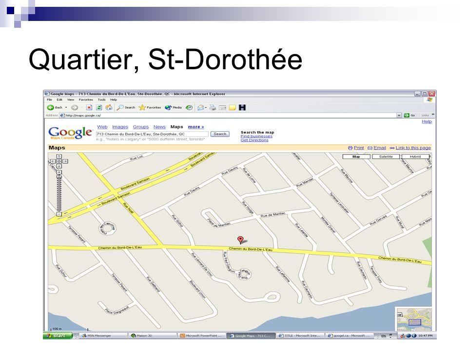 Quartier, St-Dorothée