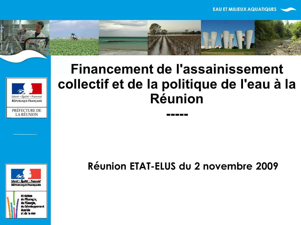 EAU ET MILIEUX AQUATIQUES 12 Contexte européen de multiples contentieux Les nouveaux Etats membres doivent se mettre en conformité Pas de particularité possible pour les DOM