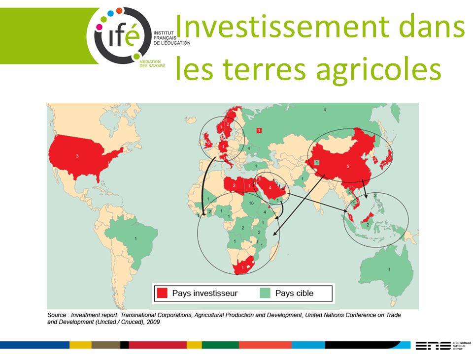 Investissement dans les terres agricoles