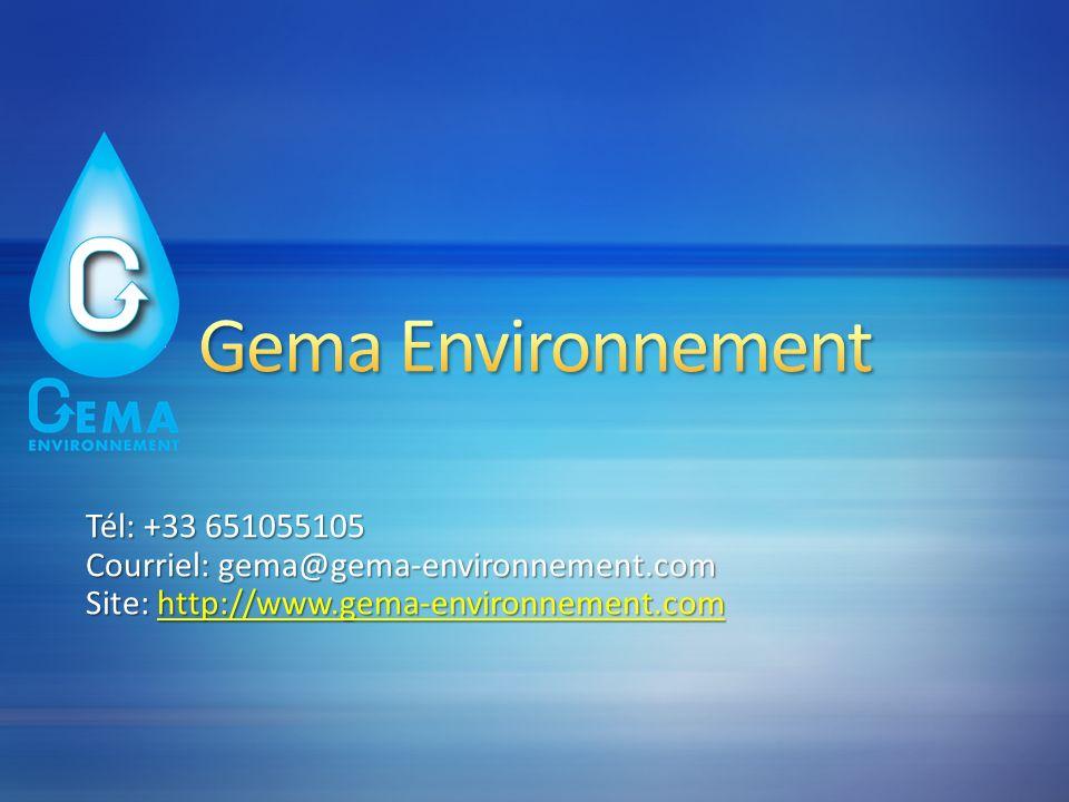 Tél: +33 651055105 Courriel: gema@gema-environnement.com Site: http://www.gema-environnement.com http://www.gema-environnement.com