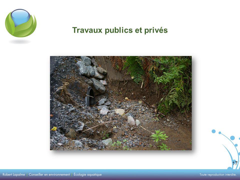 17 Travaux publics et privés