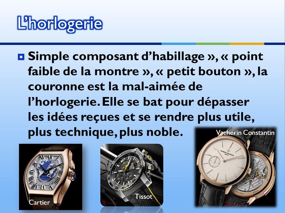Simple composant dhabillage », « point faible de la montre », « petit bouton », la couronne est la mal-aimée de lhorlogerie. Elle se bat pour dépasser