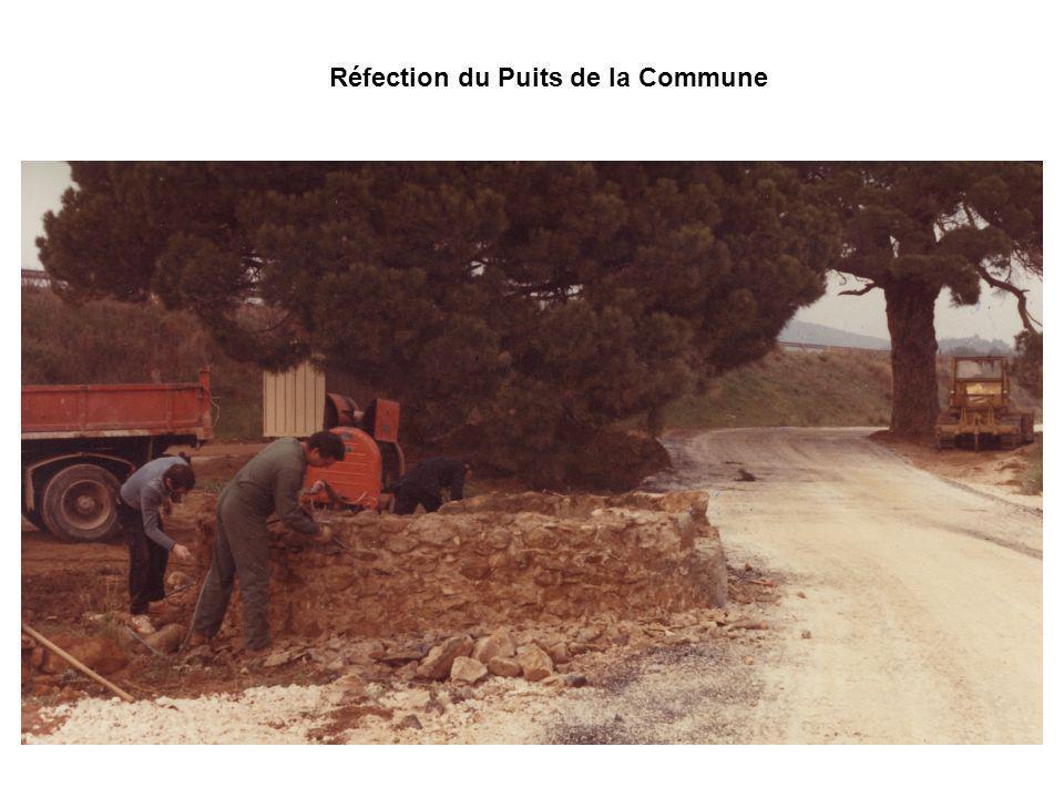 Réfection du Puits de la Commune