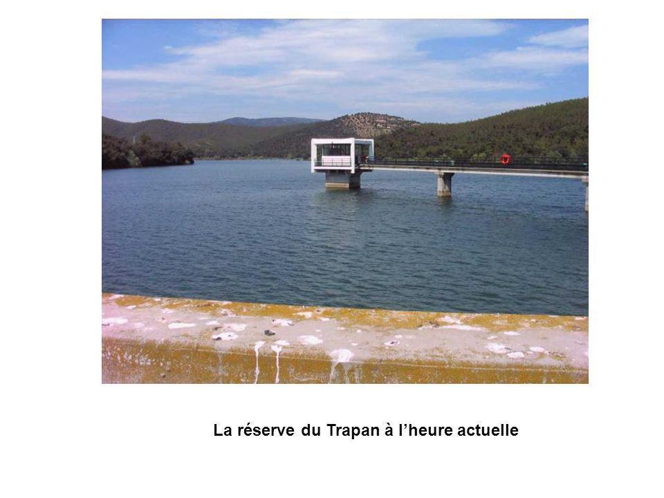 La réserve du Trapan à lheure actuelle