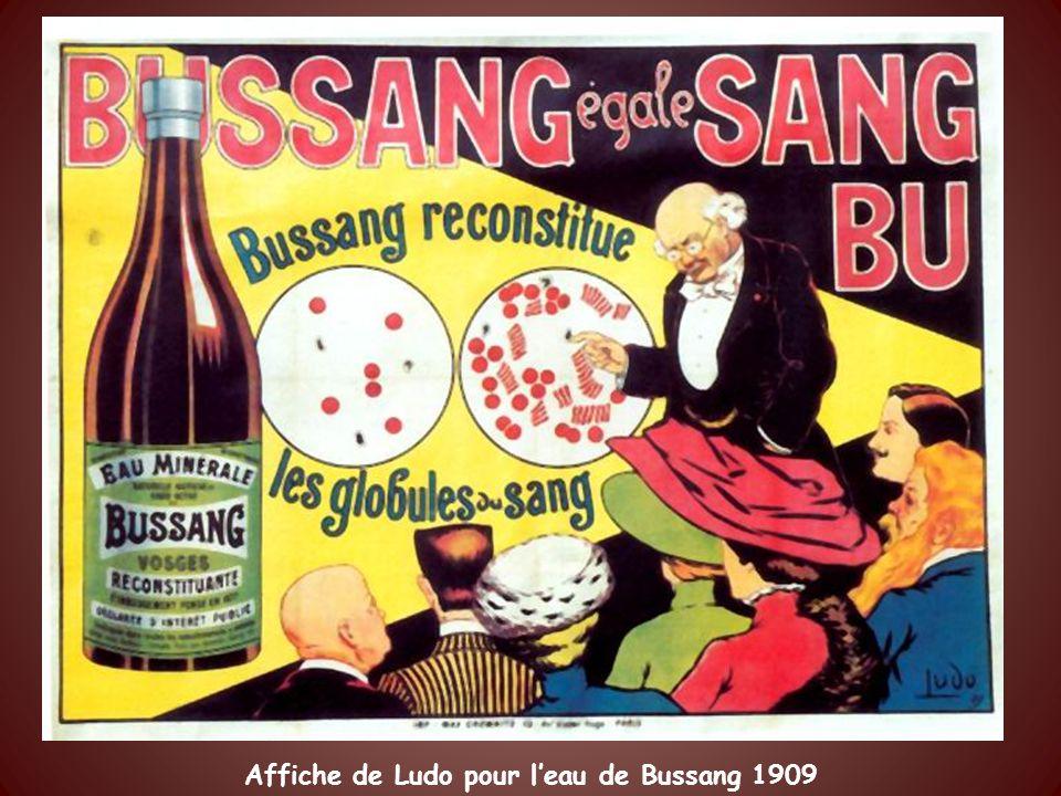 Vittel grande source Affiche de Cappiello 1912