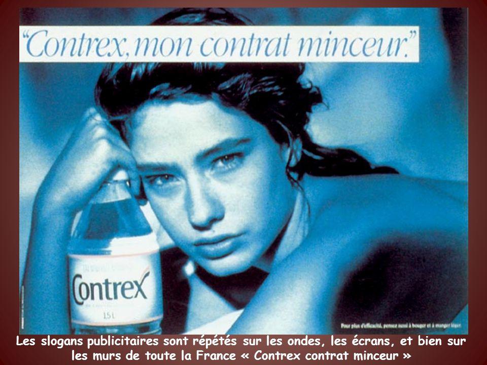 En 1994 cest le quarantième anniversaire de la communication et le thème en est « la minceur Contrexéville »