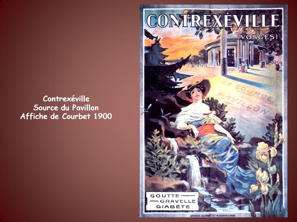 Une des plus anciennes affiches pour leau minérale gazeuse de Bussang Elle date de 1898