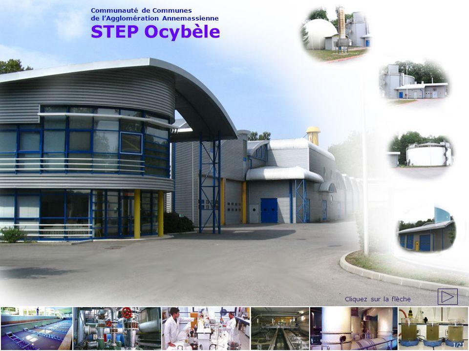 STEP Ocybèle Communauté de Communes de lAgglomération Annemassienne 1/21 Cliquez sur la flèche