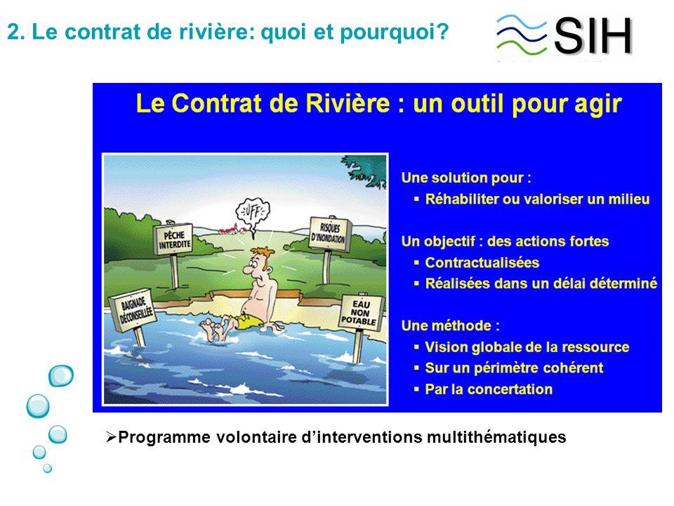 2. Le contrat de rivière: quoi et pourquoi?