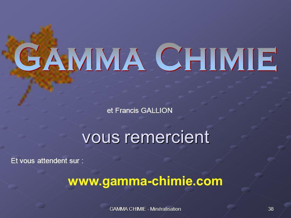 37GAMMA CHIMIE - Minéralisation Exemples dapplications Tahiti – Consolidation et imperméabilisation dinfrastructures souterraines