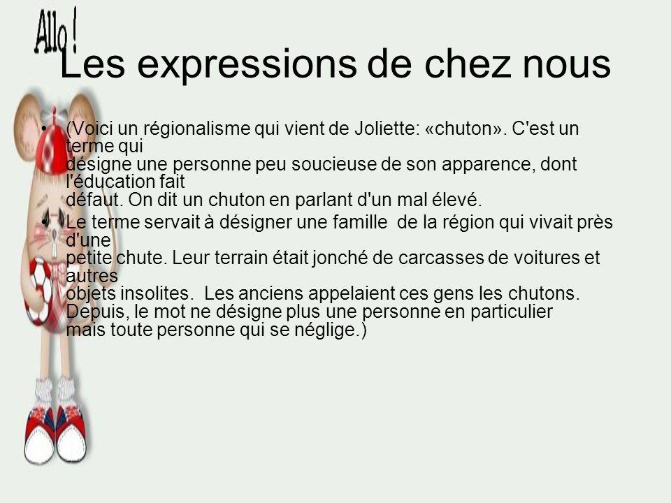 Les expressions de chez nous «Pâté chinois» Hachis (Variante canadienne [francophone] du «hachis Parmentier» français et du