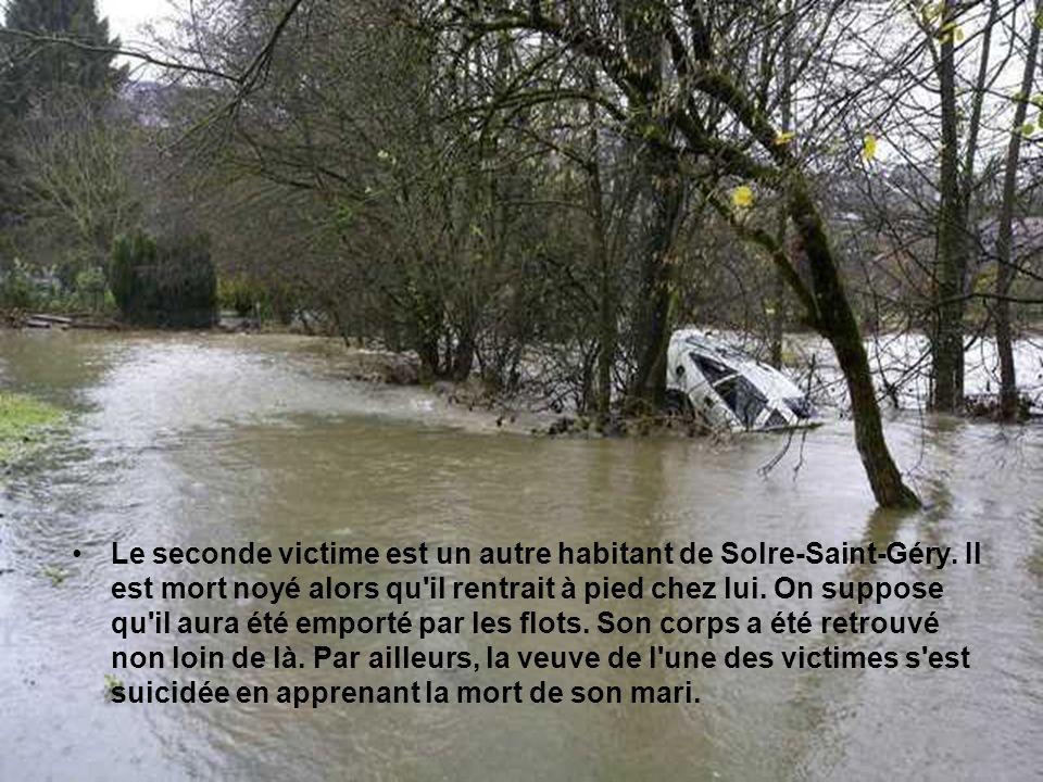 Deux personnes sont décédées à Solre-Saint-Géry, près de Beaumont dans la soirée du 13 novembre 2010.