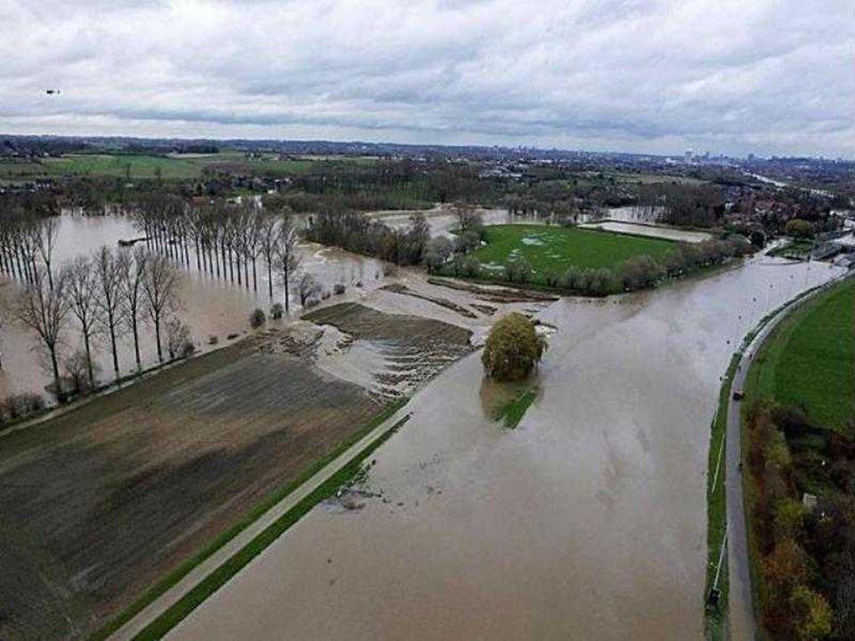 A l'instar d'autres régions du pays, le Brabant flamand a subi de plein fouet les conséquences des fortes précipitations.
