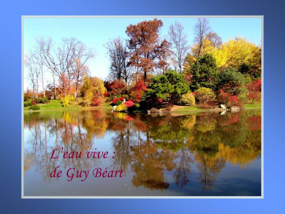 Leau vive : de Guy Béart