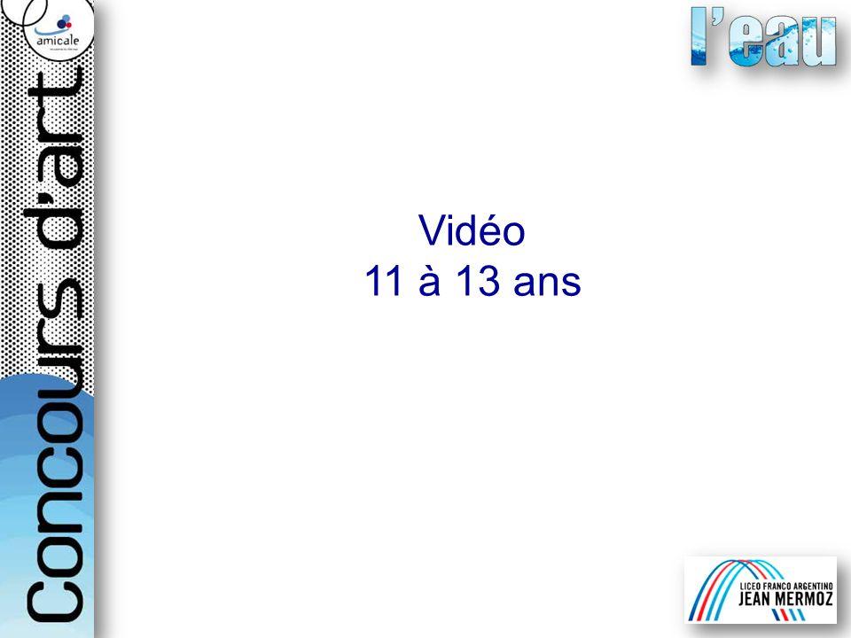 Vidéo 11 à 13 ans