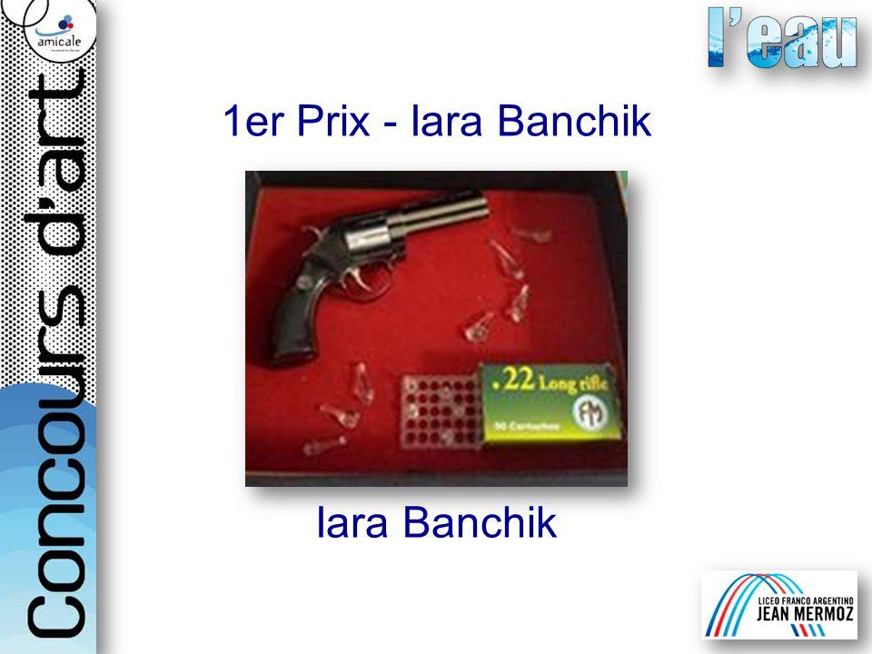 1er Prix - Iara Banchik Iara Banchik