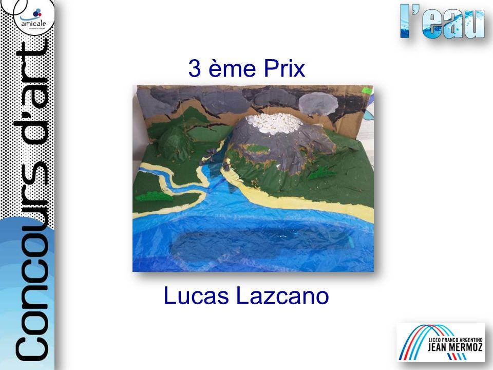 3 ème Prix Lucas Lazcano