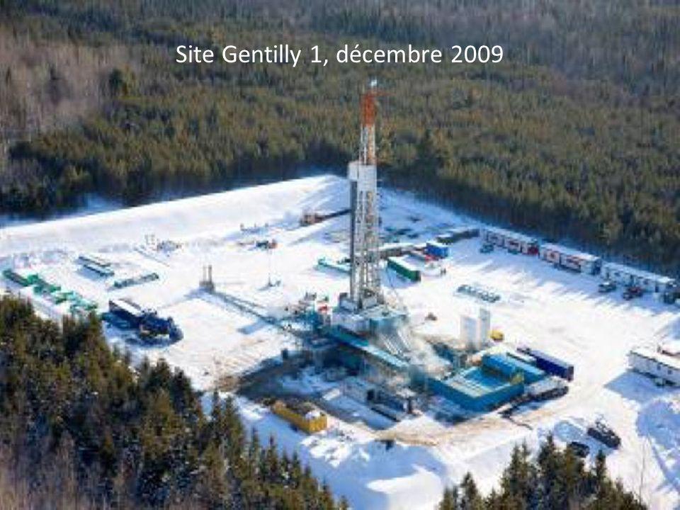 Site Gentilly 1, décembre 2009