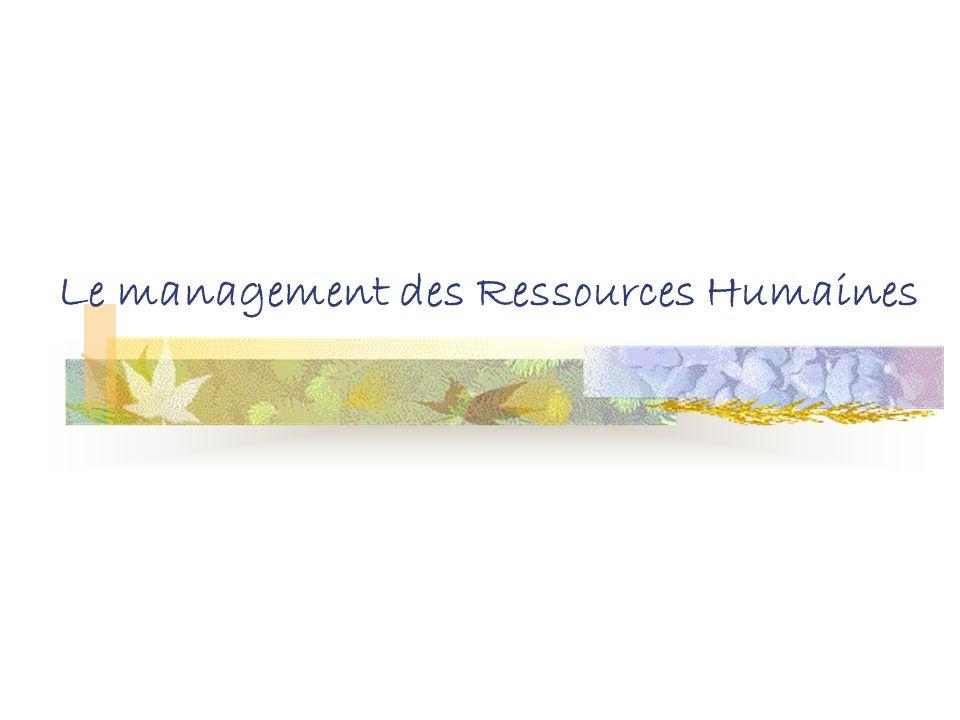 Sommaire Le management des Ressources Humaines Les bases du management Les modes de management (4+1) La communication, outil de management ? Le manage