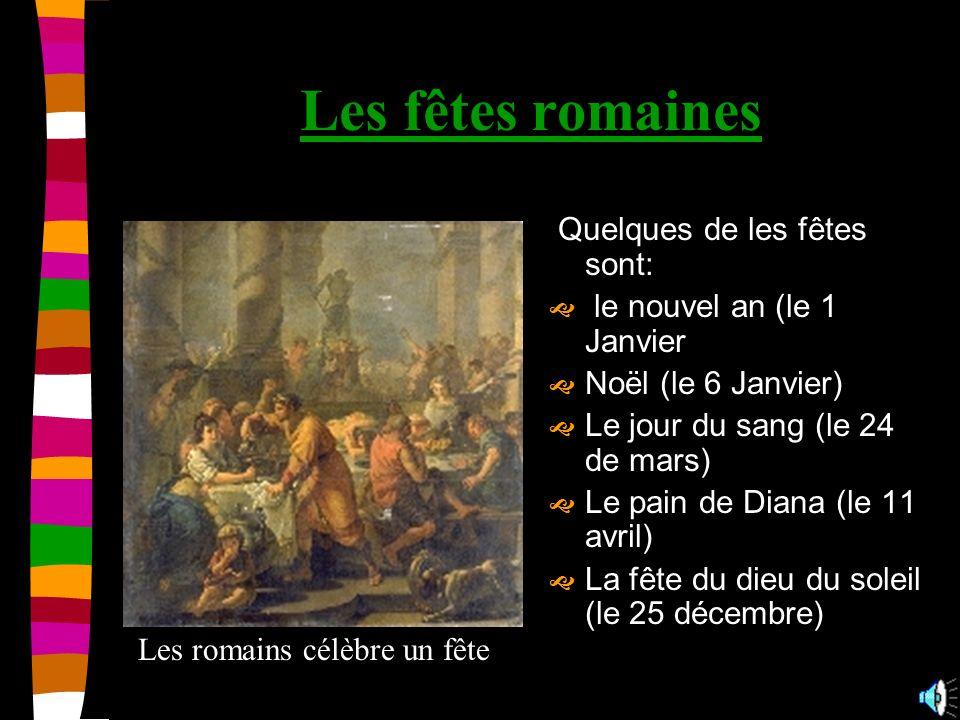 Les dieux les principaux dieux et déesses étaient: Jupiter Cérès Junon Vulcain Mars Diane Vénus Bacchus Minerve Mercure Neptune Vesta Ici cest Jupiter