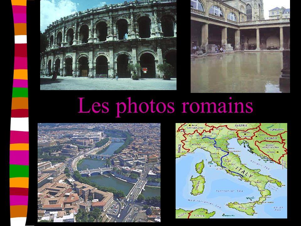 Les fêtes romaines Quelques de les fêtes sont: le nouvel an (le 1 Janvier Noël (le 6 Janvier) Le jour du sang (le 24 de mars) Le pain de Diana (le 11