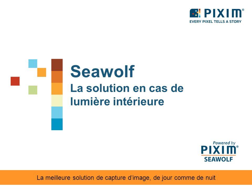 Seawolf La solution en cas de lumière intérieure La meilleure solution de capture dimage, de jour comme de nuit