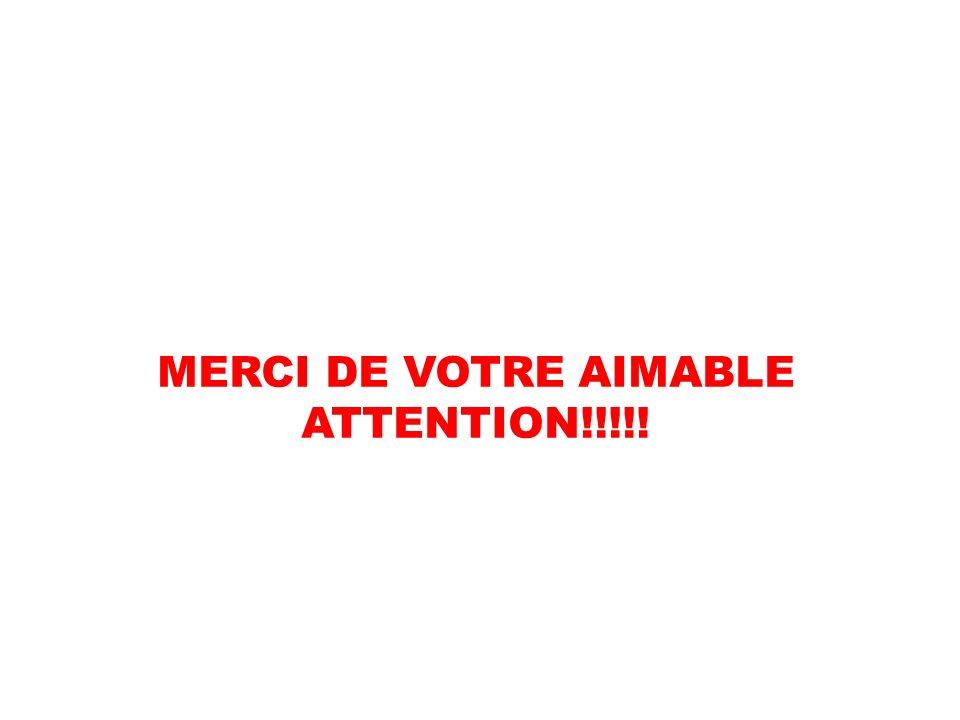 MERCI DE VOTRE AIMABLE ATTENTION!!!!!