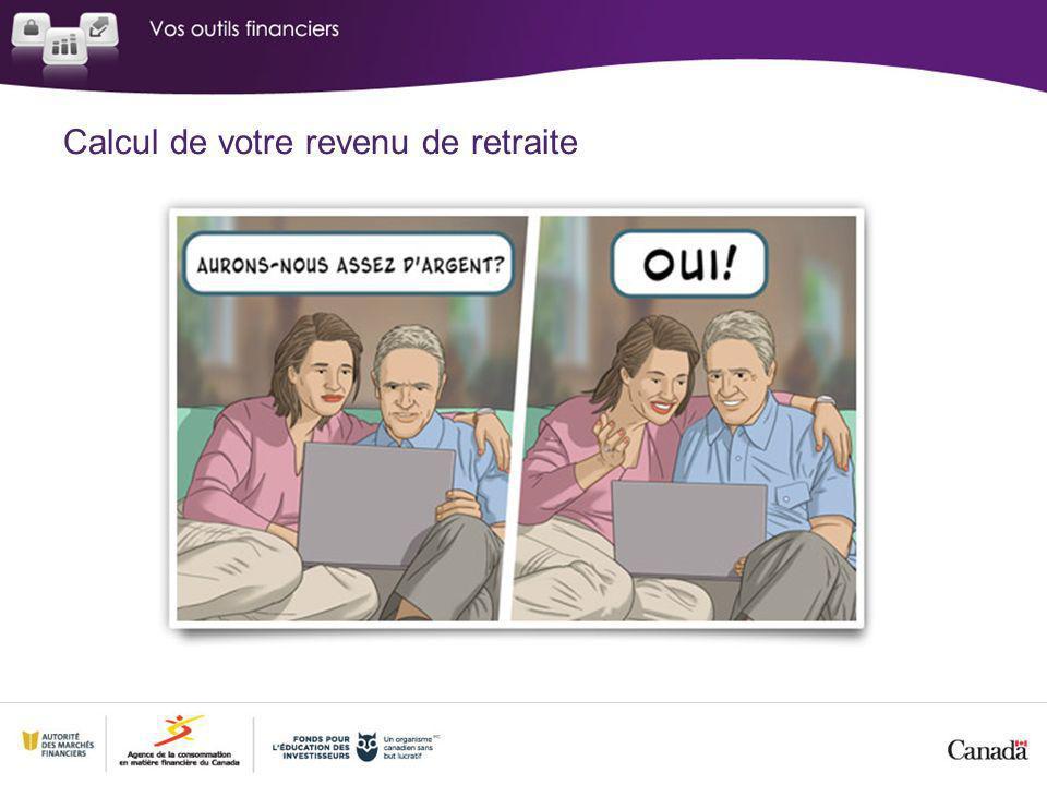 Calcul de votre revenu de retraite