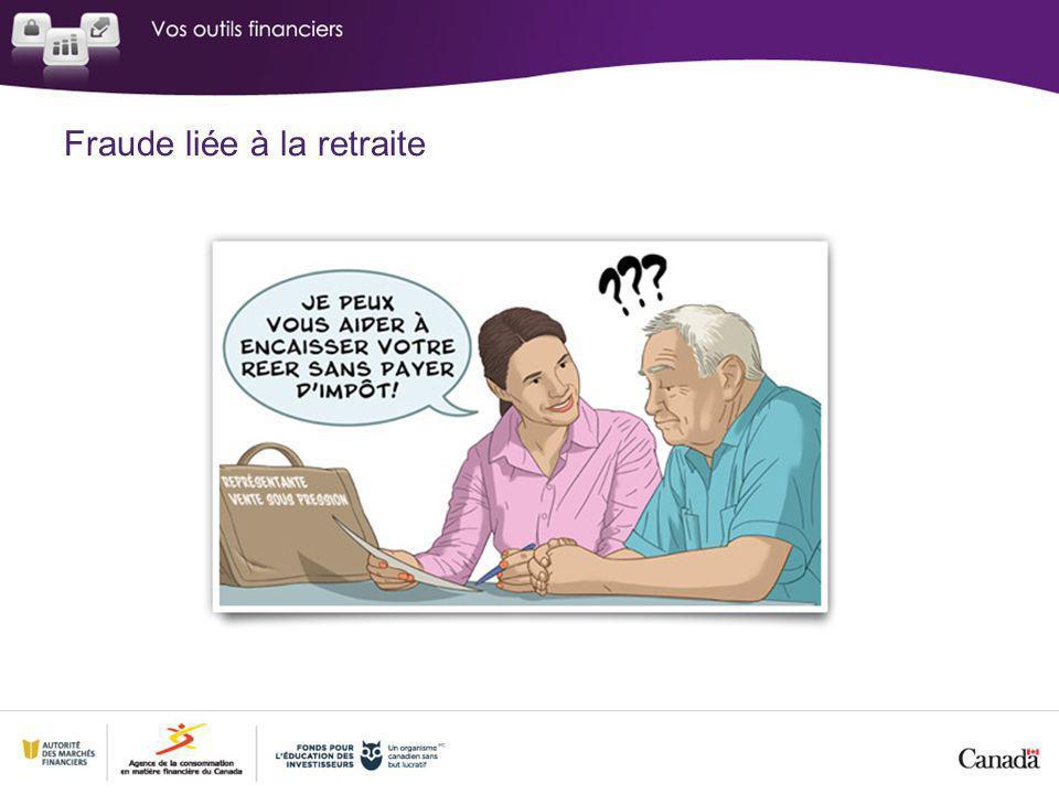 Fraude liée à la retraite