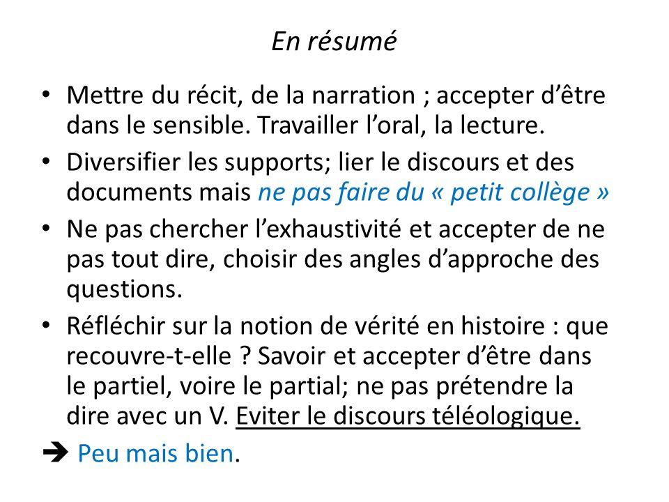 objectifs Les grandes divisions du temps historiques.