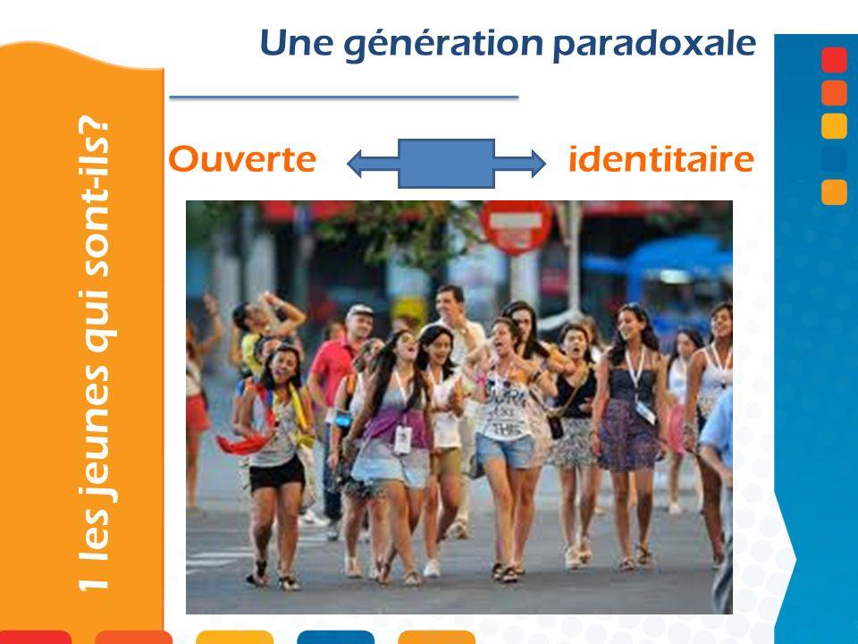 Ouverte identitaire 1 les jeunes qui sont-ils? Une génération paradoxale
