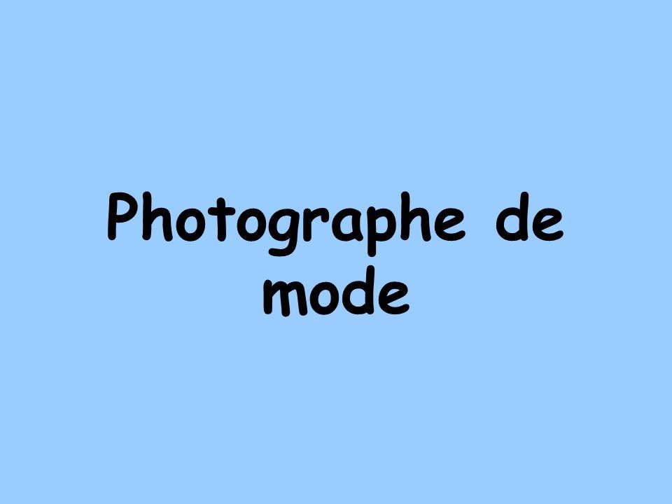 Photographe de mode
