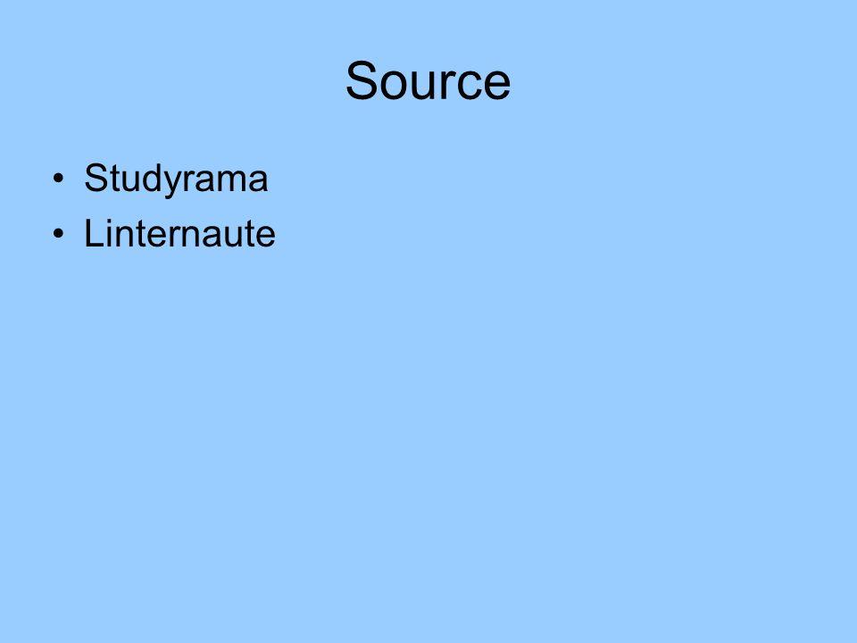 Source Studyrama Linternaute