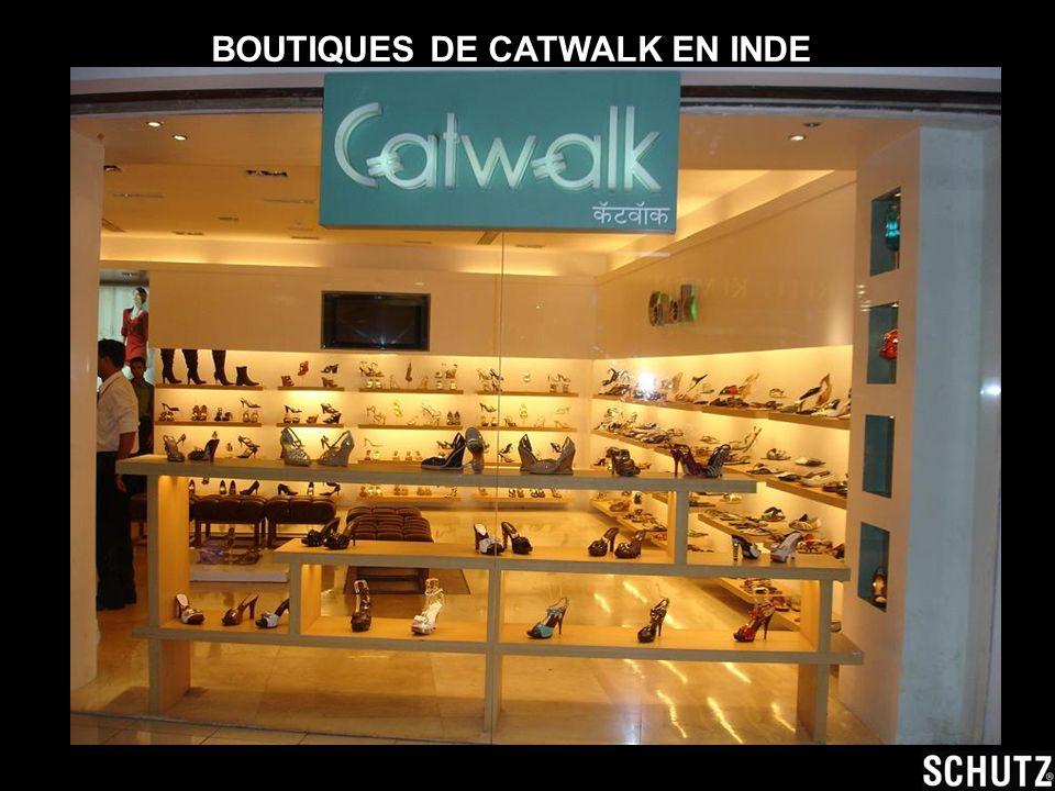 BOUTIQUES DE CATWALK EN INDE