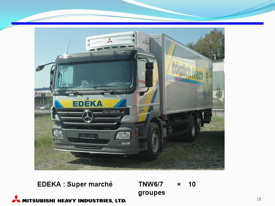 TNW6/7 × 10 groupes EDEKA : Super marché 16