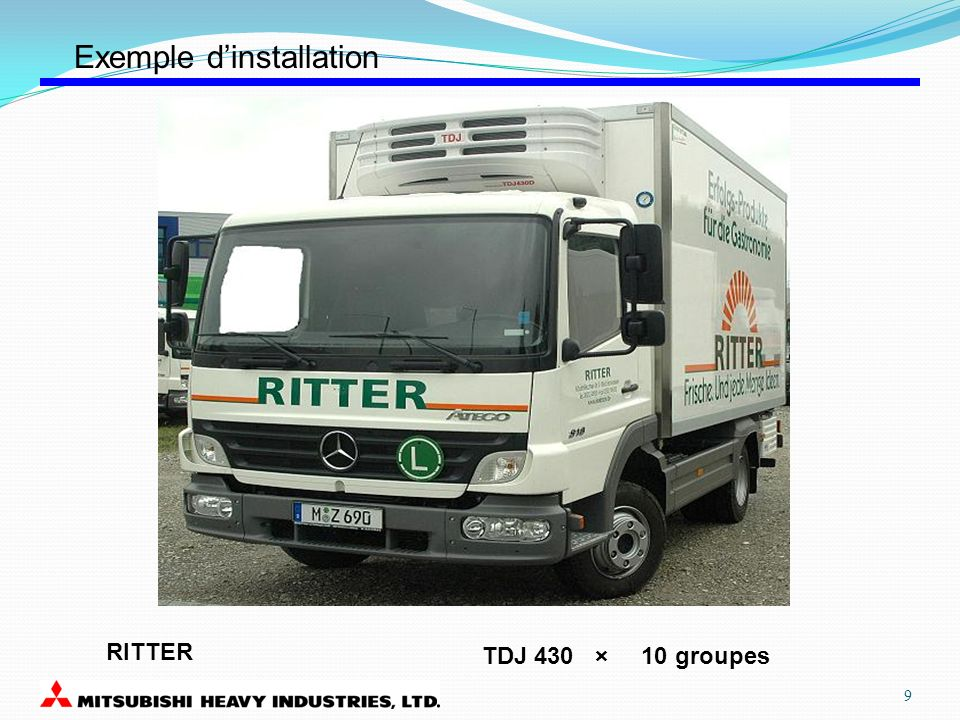 RITTER TDJ 430 × 10 groupes Exemple dinstallation 9