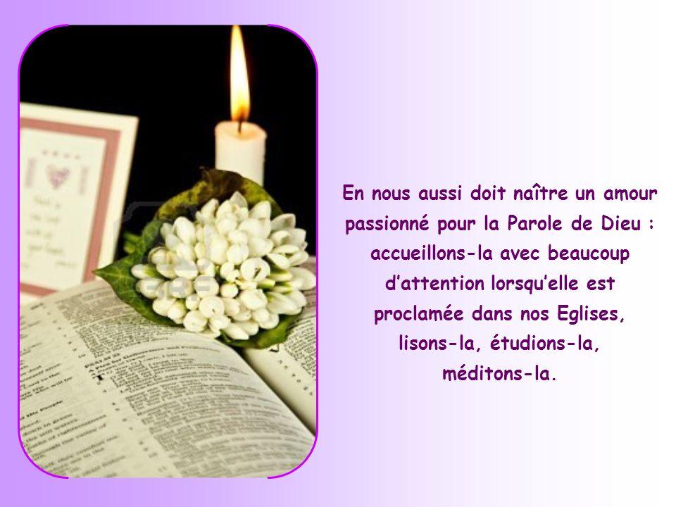 … nous ne voulons écouter et suivre quun seul Maître, celui qui dit la vérité et « a des paroles de vie éternelle » et devenir ses disciples.