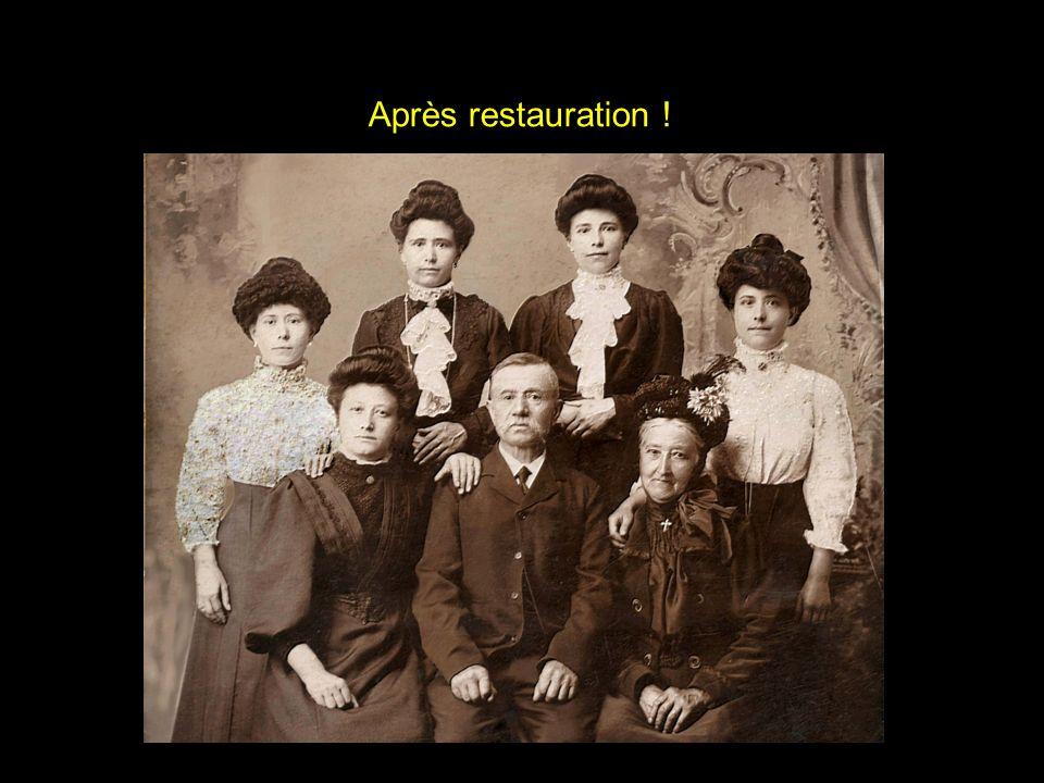 Avant restauration...